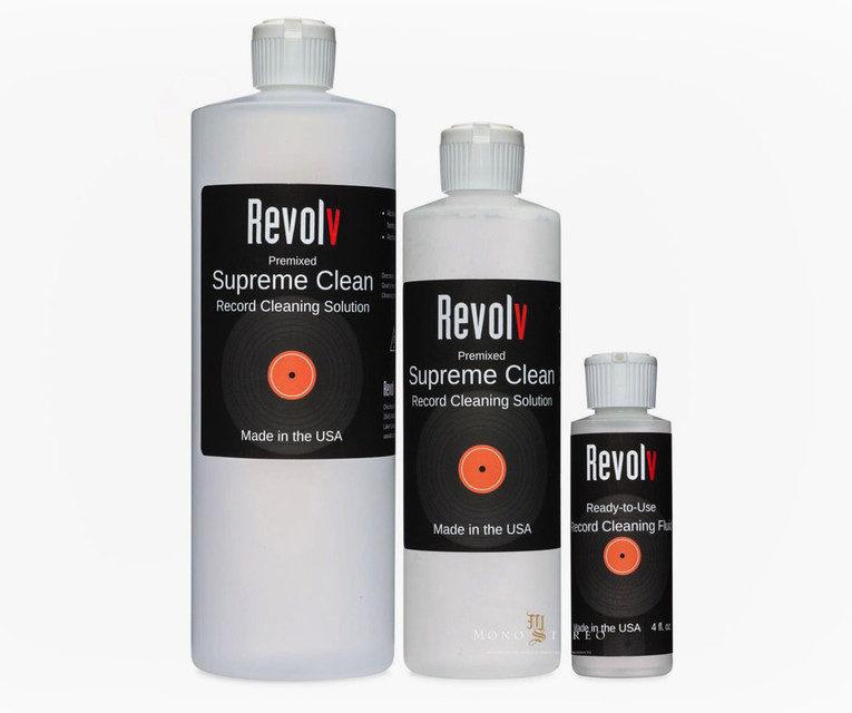 Revolv выпустила бесспиртовую жидкость для чистки пластинок