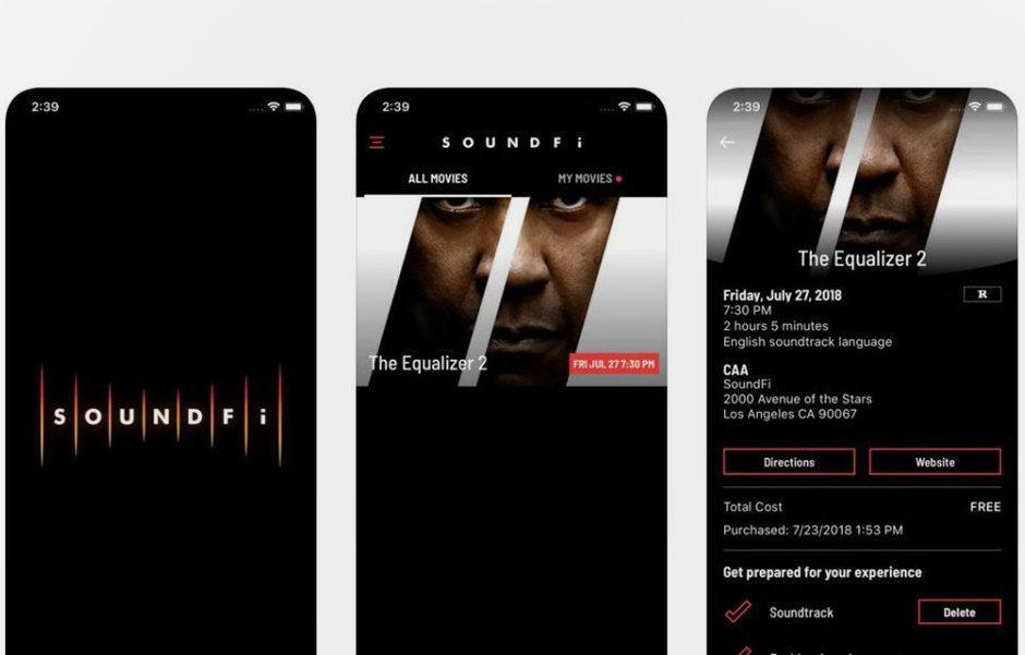SoundFi: проект кинотеатральных трансляций со звуком в наушниках