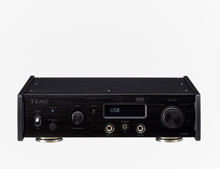 Teac выпустила настольный USB-ЦАП UD-505