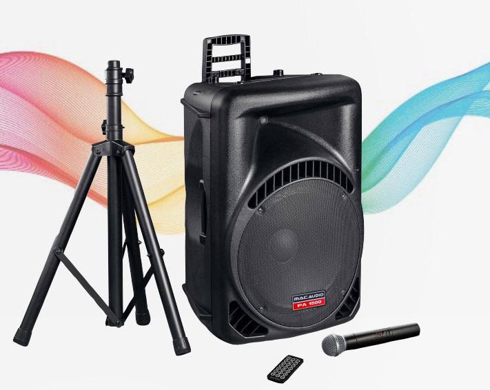 MacAudio представила киловаттную систему для вечеринок PA 1500