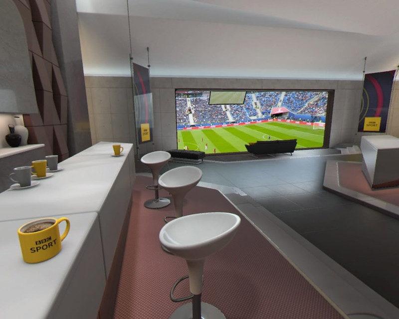 Sony и BBC Sports VR выпустили приложение для просмотра футбола с трибуны