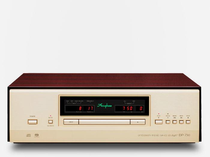 Accuphase DP-750: SACD/CD-плеер с тихим механизмом