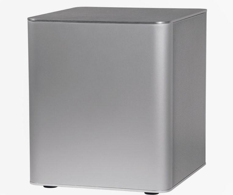 Сабвуфер Piega PS 101: алюминиевый закрытый куб и длинноходный драйвер