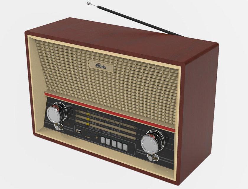 Ritmix выпустила недорогое ретро-радио RPR-102 с минимальным функционалом