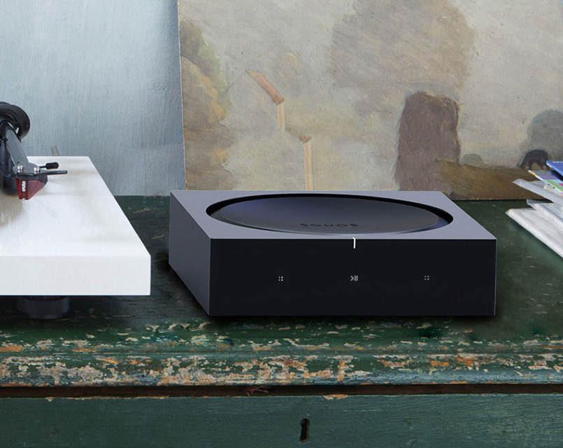 Усилитель Sonos Amp: 125 Вт на канал, HDMI ARC и AirPlay 2