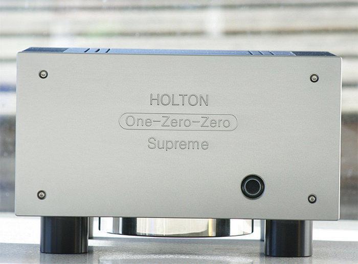 Holton One-Zero-Zero Supreme: компактный полностью балансный усилитель мощности A/B-класса