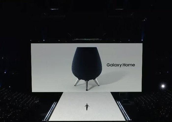 Samsung показала умную колонку Galaxy Home