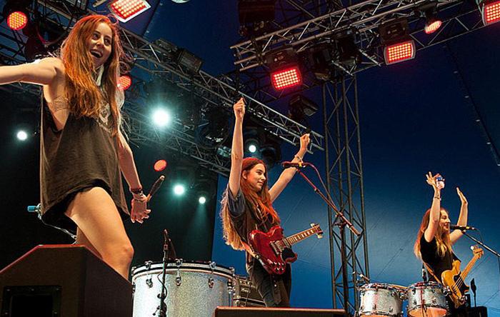 Статистика: 1,9% групп на британских фестивалях — чисто женские