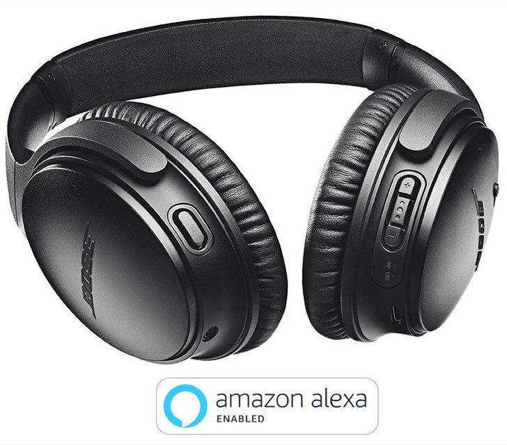 Беспроводные наушники Bose QuietComfort 35 II получили поддержку Amazon Alexa