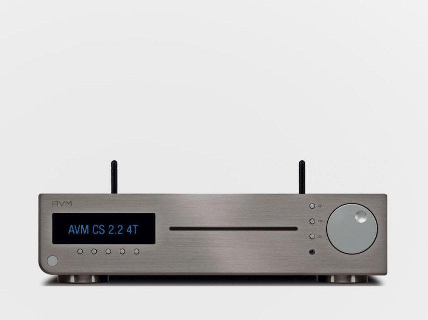 AVM CS 2.2 4T: сетевой стереоресивер с CD-приводом