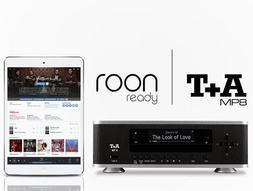 Цифровой проигрыватель Т+А MP8 получил сертификат Roon Ready