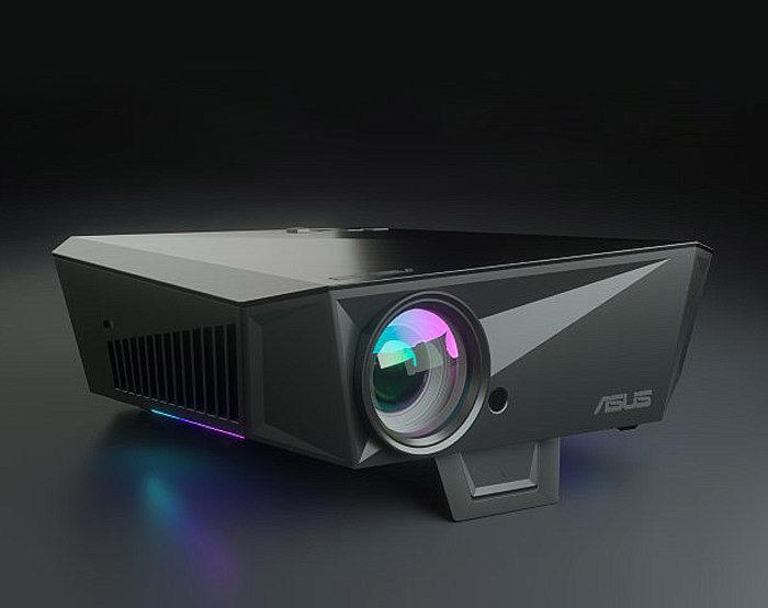 Asus представила короткофокусный Full HD-проектор F1 со встроенным 2.1-канальным звуком