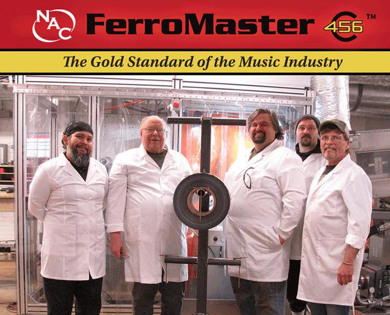 National Audio Company запускает производство магнитной ленты для кассет
