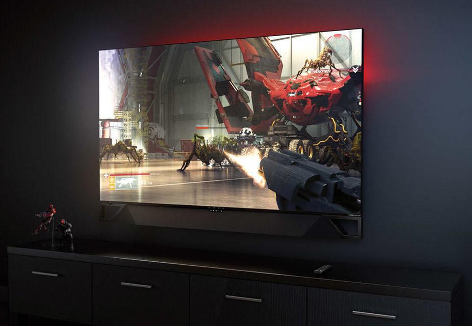 Nvidia и HP представили геймерский 65-дюймовый 4K-дисплей со встроенной приставкой Shield