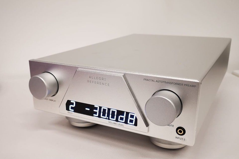 Townshend Audio пополнила серию Allegri автотрансформаторным предусилителем Reference