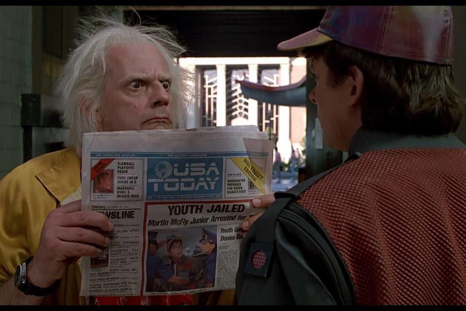 Universal анонсировала выпуск трилогии «Назад в Будущее» в формате UHD Blu-ray