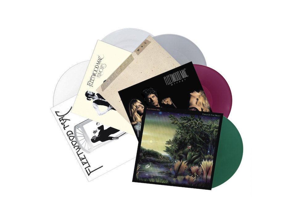 Пять культовых альбомов Fleetwood Mac будут переизданы бокс-сетом на цветном виниле