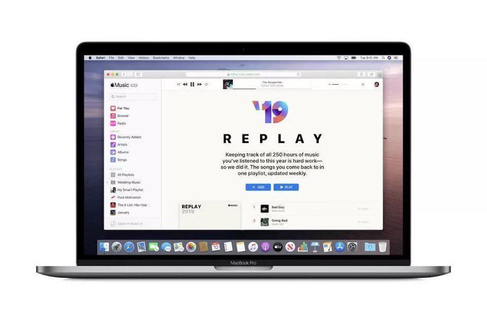 Apple Music Replay: плейлист из персональных хитов этого года