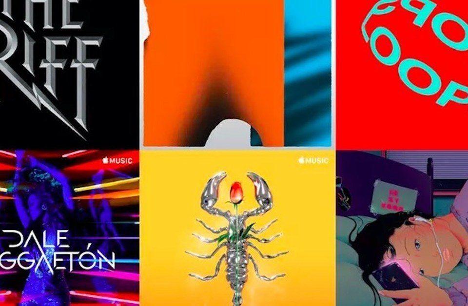 Плейлисты Apple Music получат кастомизированные обложки
