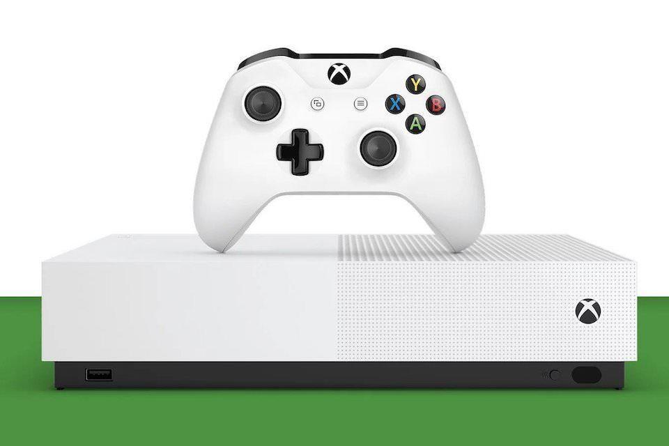 Microsoft анонсировала Xbox One S без привода для дисков