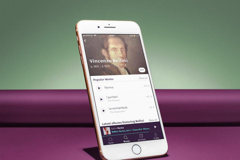 Сервис Primephoniс с классической музыкой в Hi-Res анонсировал обновление с оффлайн-прослушиванием