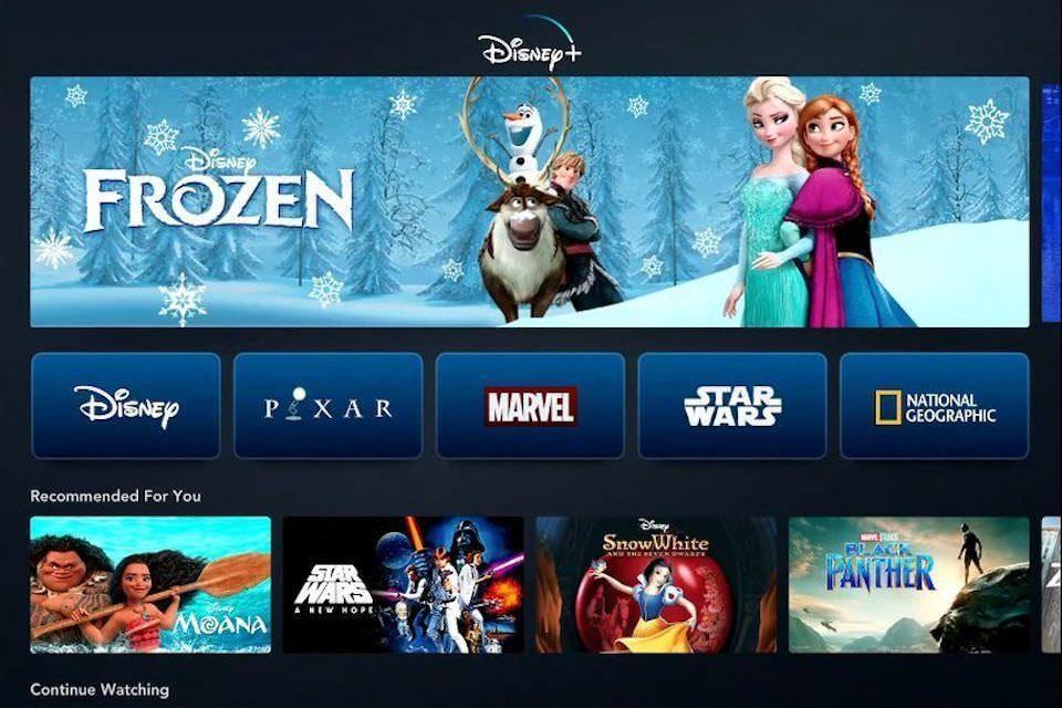 Стриминговый сервис Disney+ стартует 12 ноября по подписке за 7 долларов в месяц