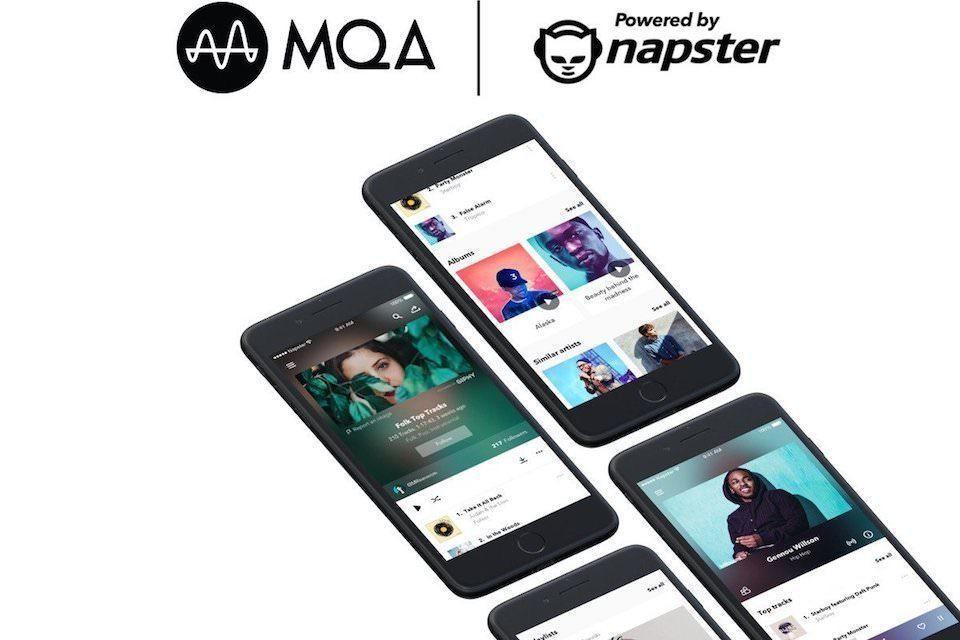 Cервис Powered by Napster будет поддерживать формат MQA