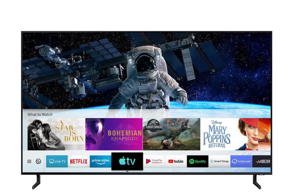Samsung объявила о глобальном запуске приложения Apple TV и функции AirPlay 2 на своих телевизорах 2019 года