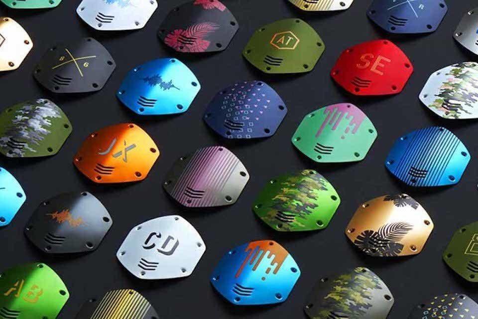 V-Moda анонсировала новую яркую коллекцию дизайнерских накладок для наушников Crossfade