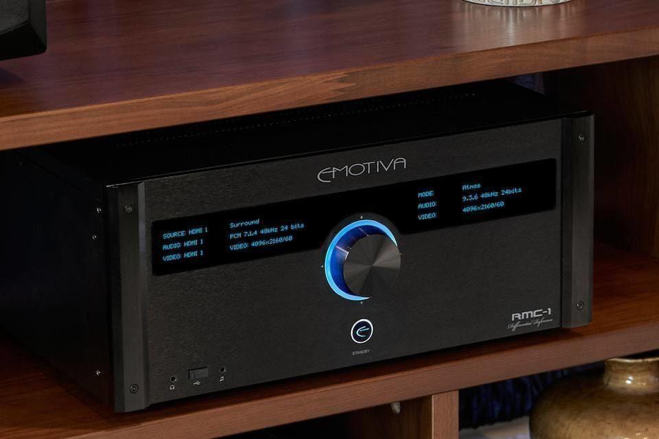 Флагманский 16-канальный AV-процессор Emotiva RMC-1: поддержка 4K/HDR, Dolby Atmos и DTS:X