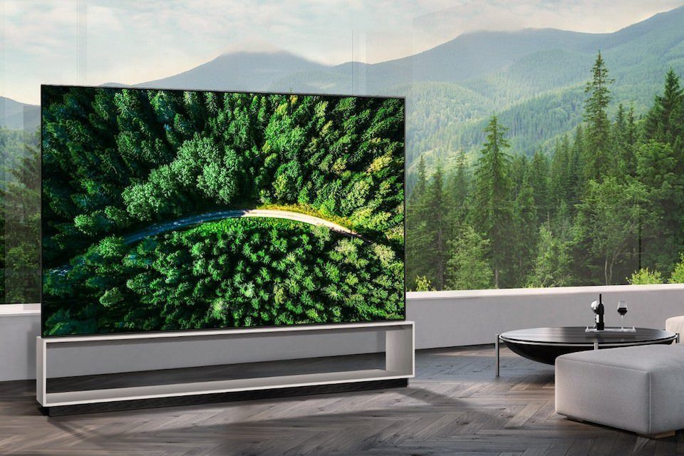 LG анонсировала старт продаж первого 8K OLED-телевизора