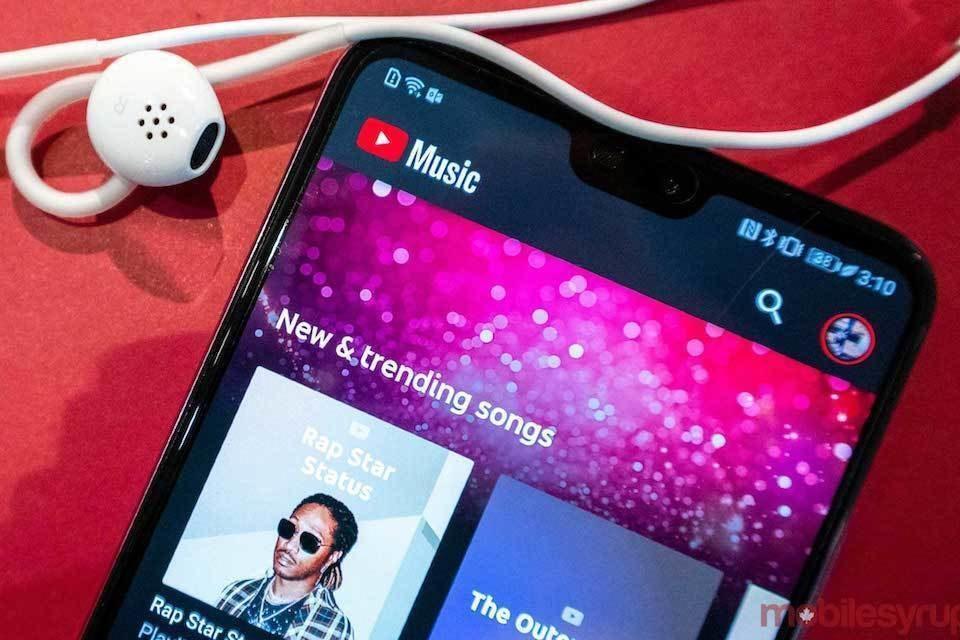 YouTube Music оснастили функцией переключения между аудио- и видеоверсиями треков