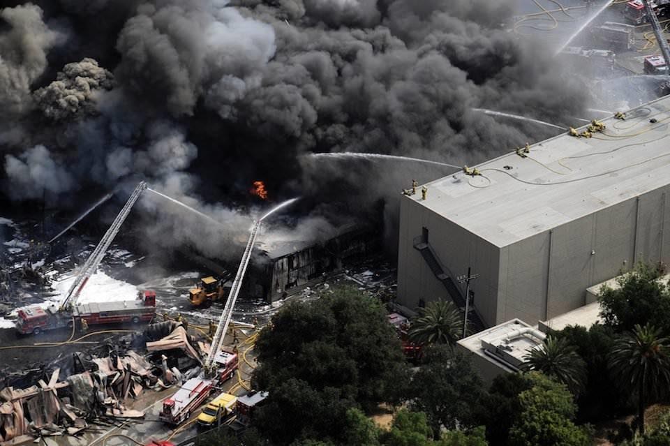 Новые сведения: потери Universal при пожаре 2008 года могли быть сильно завышены