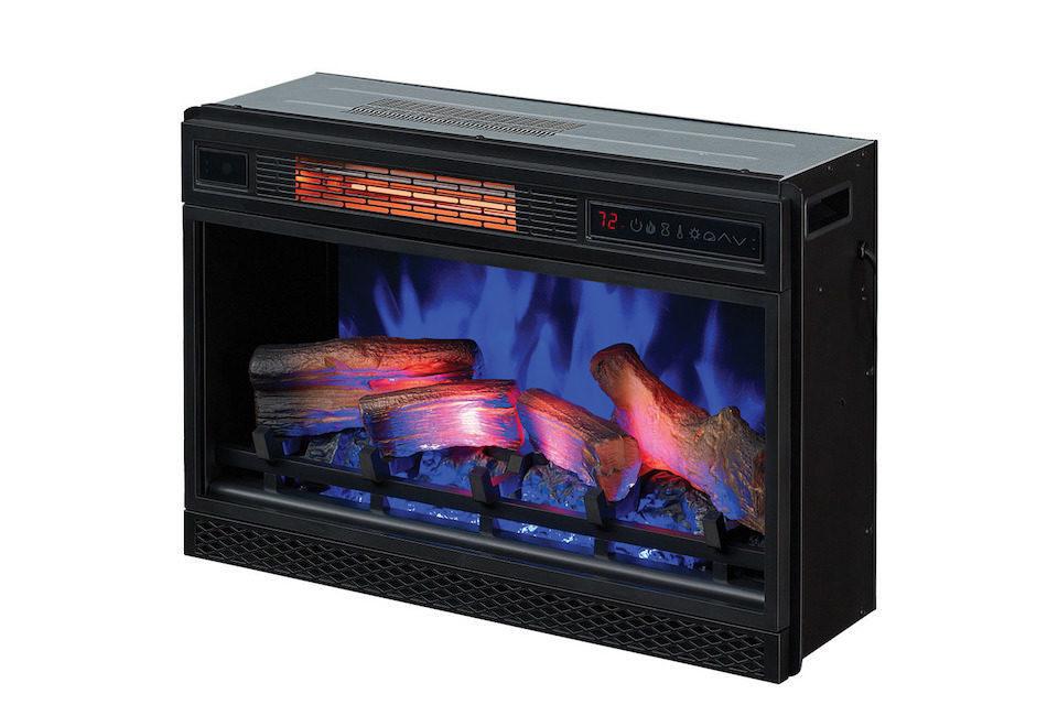 Электрокамины ClassicFlame: технология многослойного объемного пламени и безвредный нагревательный элемент