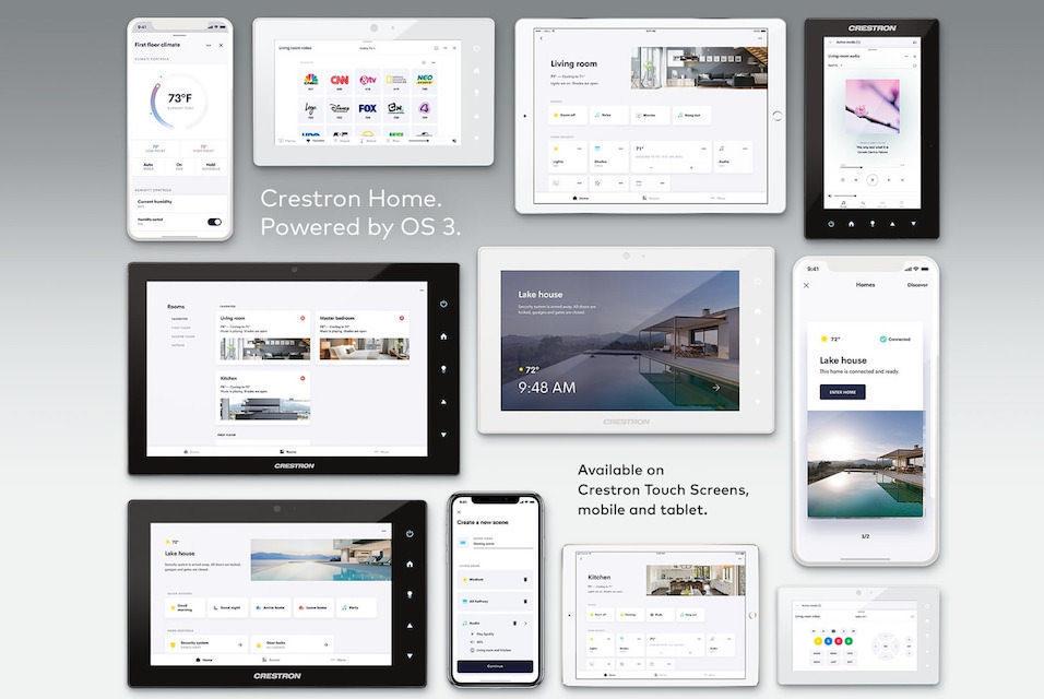 В начале сентября состоится официальный запуск умной платформы для дома Crestron Home OS 3