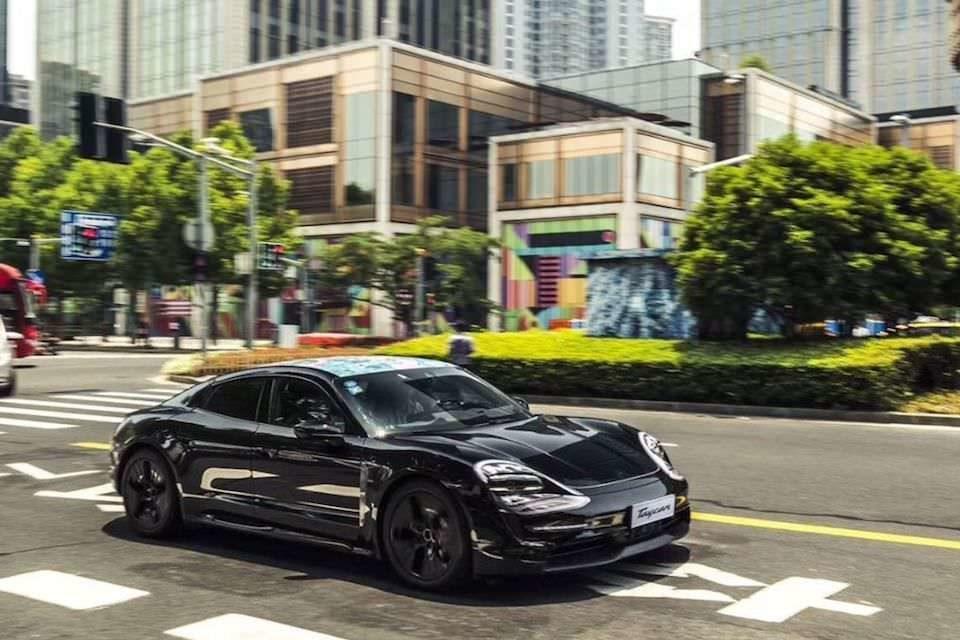 Porsche Taycan станет первым автомобилем со встроенным Apple Music