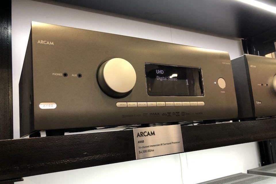 Arcam представила три AV-ресивера и кинотеатральный процессор с поддержкой Dolby Atmos, DTS:X и IMAX Enhanced