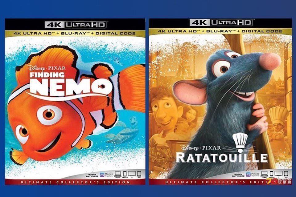 Disney предложила еще больше продукции Marvel и Pixar на UHD Blu-ray дисках