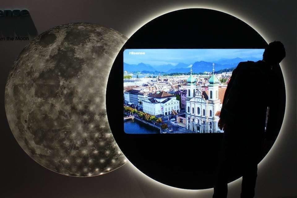 Телевизионные прототипы от Hisense: 8K, дисплей 21:9, телевизор Arc и двухслойные ЖК-технологии