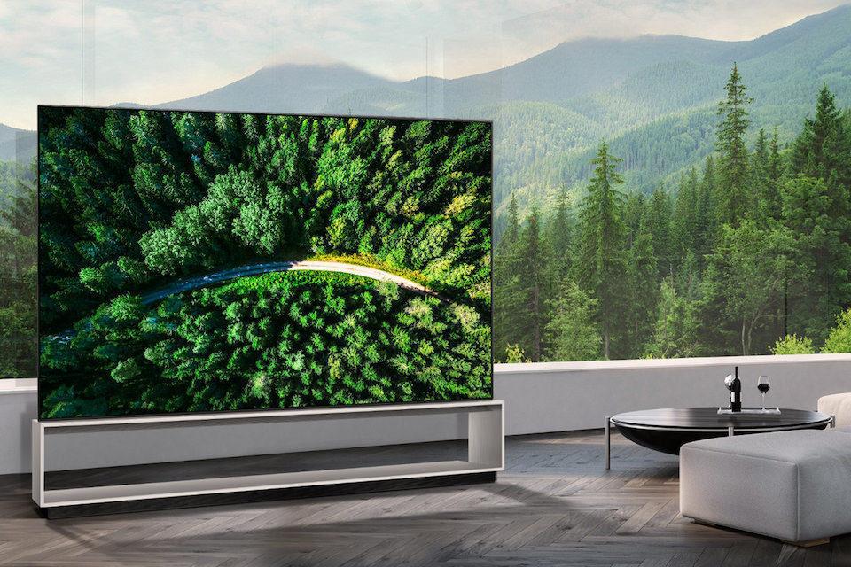 LG выпустила первый в мире 8K/OLED-телевизор 88Z9 c диагональю 88 дюймов