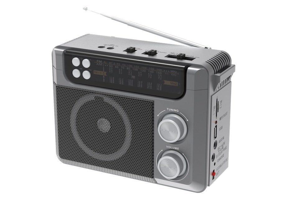 Ritmix выпустила недорогой универсальный радиоприемник RPR-200 со встроенным MP3-плеером