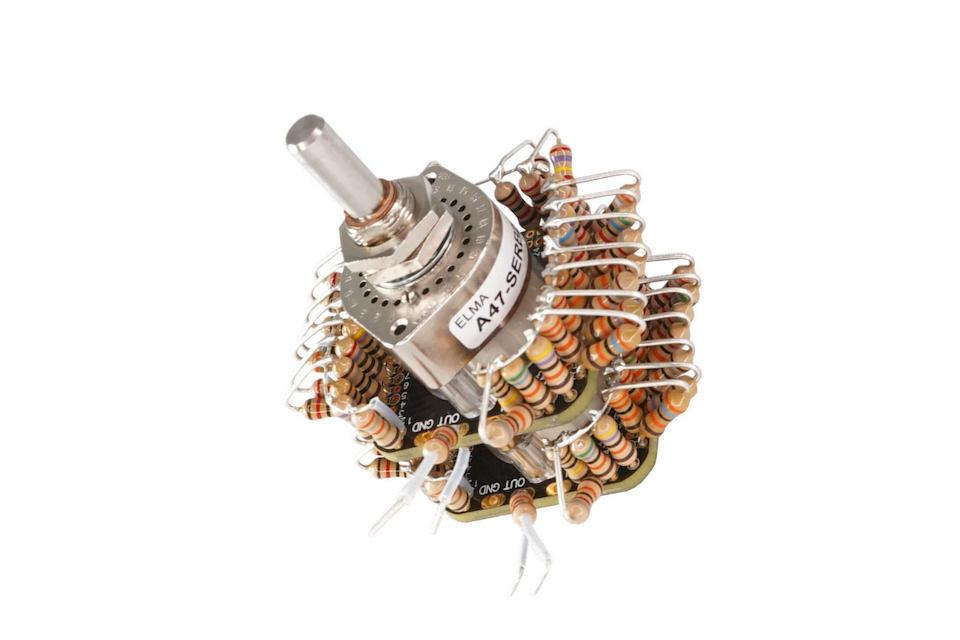 Ступенчатый аттенюатор Glasshouse Stereo 47: аудиофильский набор танталовых резисторов в версиях 50К, 100К и 250К