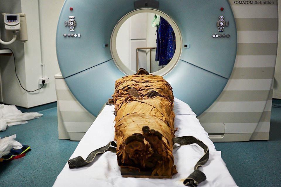 Ученые смоделировали голос древнеегипетской мумии