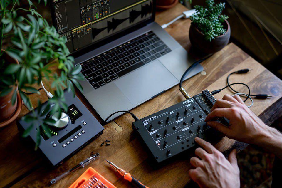 Moog запустила продажи удешевленной версии полумодульного аналогового DIY-синтезатора Werkstatt-01