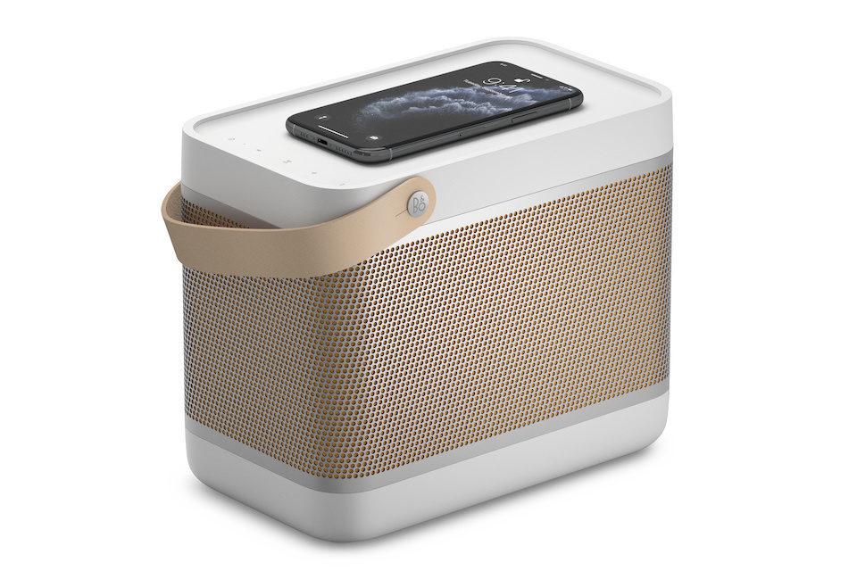 Bluetooth-колонка Bang&Olufsen Beolit 20: увеличенный аккумулятор и встроенная беспроводная зарядка Qi