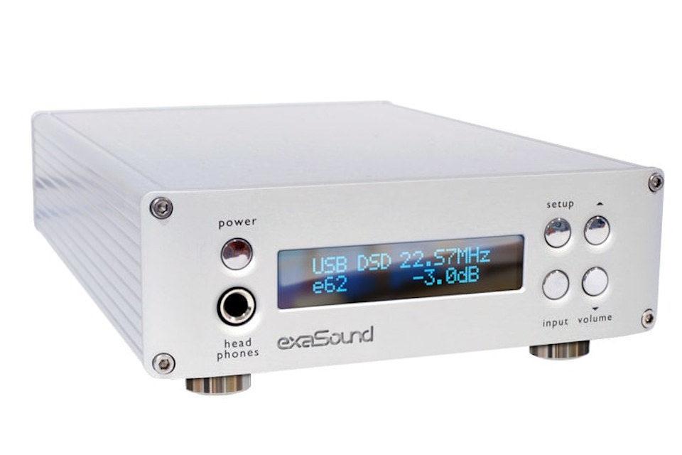 ExaSound e62: полностью балансный ЦАП/усилитель для наушников с нативной поддержкой DSD512 и MQA