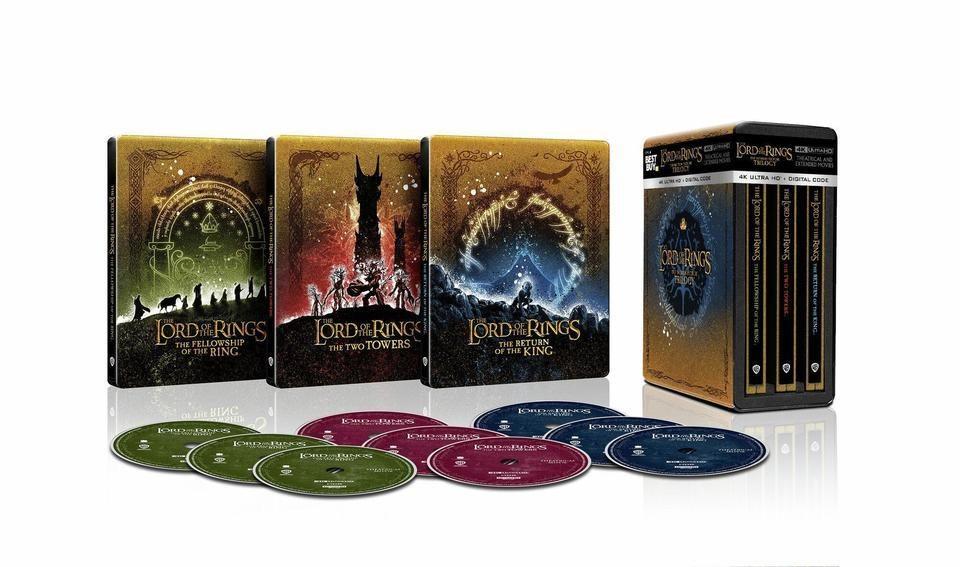 «Властелин колец» и «Хоббит» выйдут на UHD Blu-ray в декабре этого года