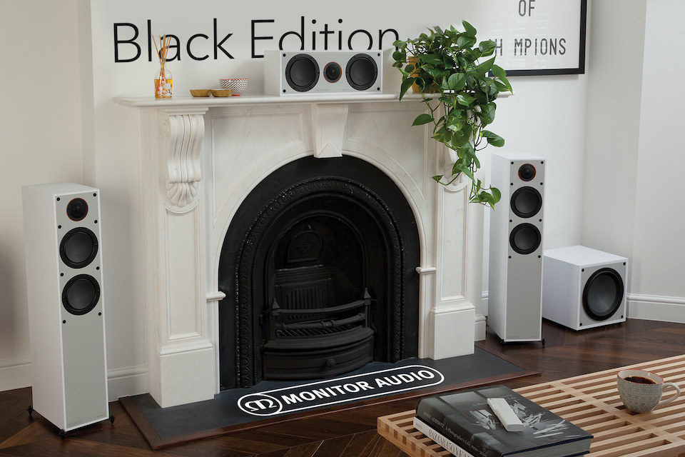 Серия акустики Monitor от Monitor Audio в версии Black появилась на российском рынке