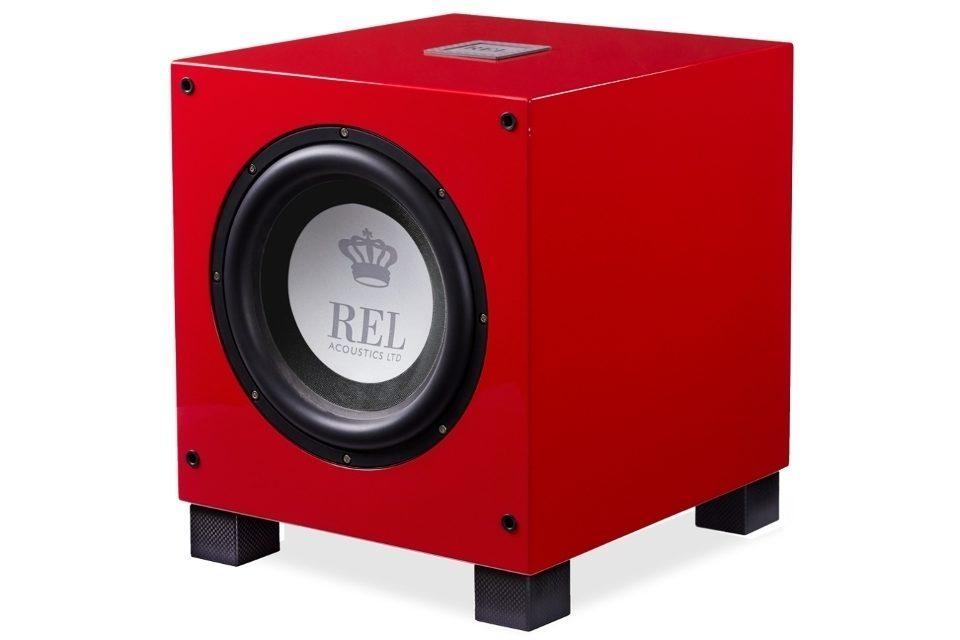 REL выпустила сабвуфер T/9i RED в итальянском красном цвете
