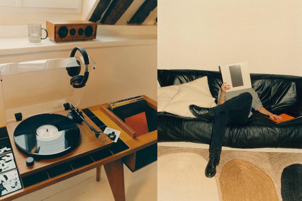 В Zara Home появилась линейка мебели и аксессуаров для любителей музыки и винила